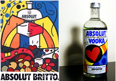 Absolut Vodka BRITTO