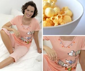 Pijama y películas