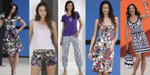 Pijamas y vestidos de flores
