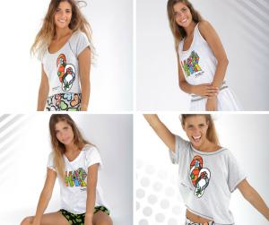 Colección pijamas Massana- Romero Britto